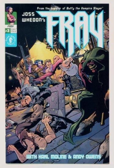 FRAY #3 Dark Horse Comics 2001 Joss Whedon NM 1st Print