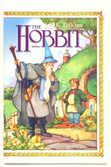 The HOBBIT BOOK ONE #1 Eclipse Comics 1989 JRR TOLKIEN