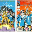 The THREE MUSKETEERS #1 and #2 Marvel Comics 1994 Full Run
