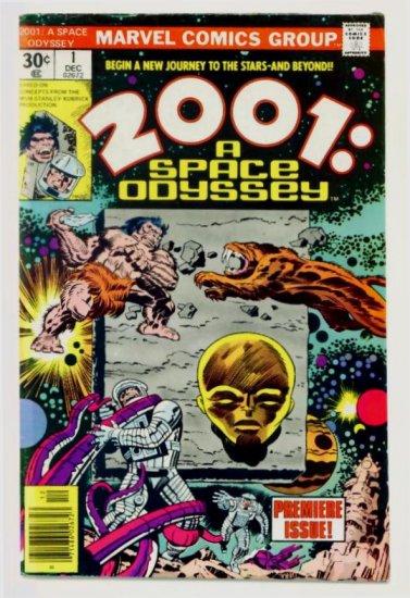 2001 A SPACE ODYSSEY #1 Marvel Comics 1976 Jack Kirby