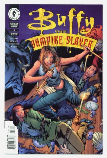 BUFFY The Vampire Slayer #3 Dark Horse Comics 1998 ART COVER