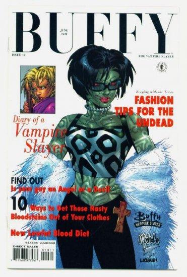 BUFFY The Vampire Slayer #10 Dark Horse Comics 1999 ART COVER