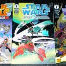 STAR WARS RIVER of CHAOS #1 #2 #3 Lot Dark Horse Comics