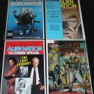 ALIEN NATION Lot of 4 Comics Movie and TV Specials