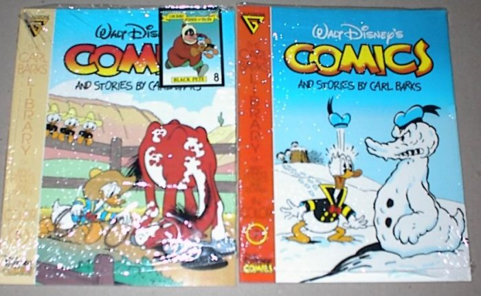 CARL BARKS LIBRARY #5 and #7 Gladstone Comics 1992 Lot