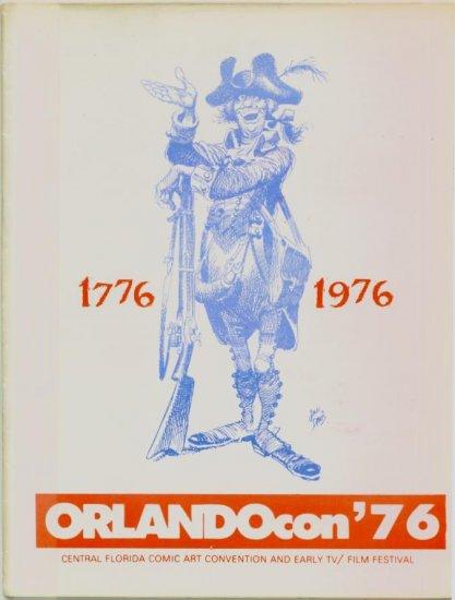 ORLANDOcon 1976 Comic art Program Guide Jack Davis