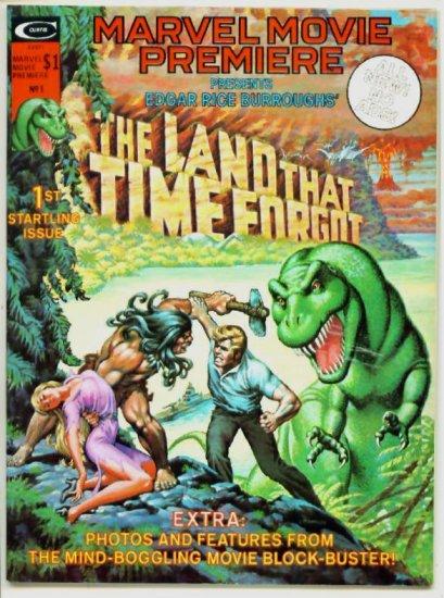 The LAND THAT TIME FORGOT Marvel Comics Curtis Magazine 1975