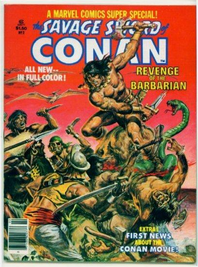 SAVAGE SWORD OF CONAN Marvel Comics 1978 Super Special #2