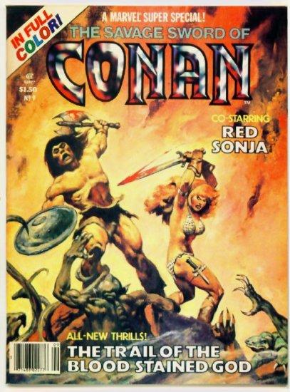 SAVAGE SWORD OF CONAN Marvel Comics 1978 Super Special #9