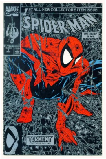 SPIDER-MAN #1 Marvel Comics 1990 NM Silver Direct