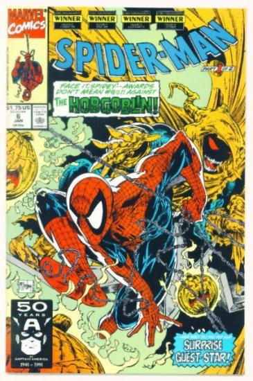 SPIDER-MAN #6 Marvel Comics 1991 NM Hobgoblin