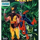 SPIDER-MAN #9 Marvel Comics 1991 NM Wolverine