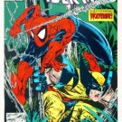 SPIDER-MAN #12 Marvel Comics 1991 NM Wolverine