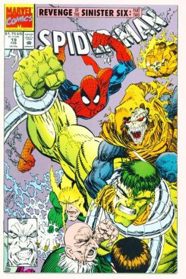 SPIDER-MAN #19 Marvel Comics 1992 NM Hobgoblin