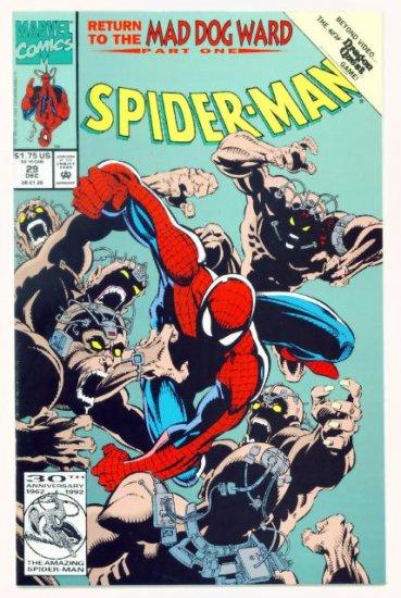 SPIDER-MAN #29 Marvel Comics 1992 NM