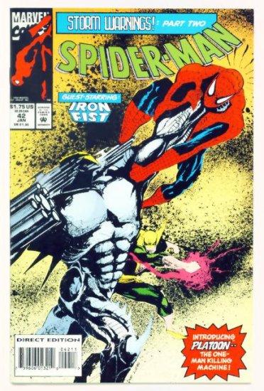 SPIDER-MAN #42 Marvel Comics 1994 NM Iron Fist