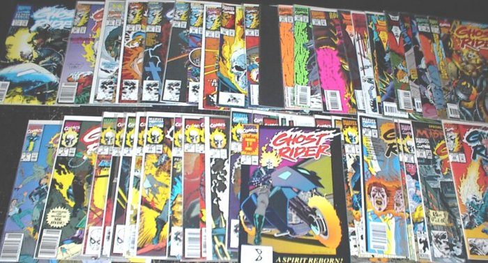 GHOST RIDER Lot of 50 Marvel Comics #1 - #62
