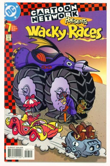 Wacky Races CARTOON NETWORK PRESENTS #7 DC Comics 1998