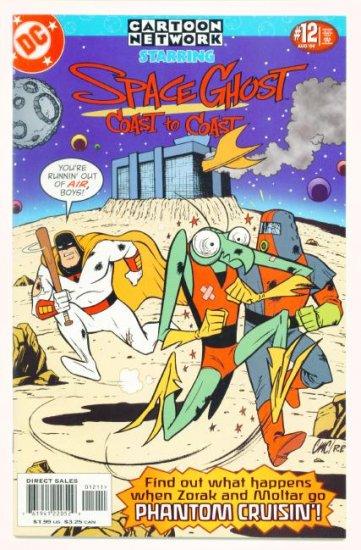 Space Ghost CARTOON NETWORK STARRING #12 DC Comics 2000