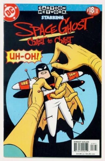 Space Ghost CARTOON NETWORK STARRING #18 DC Comics 2001
