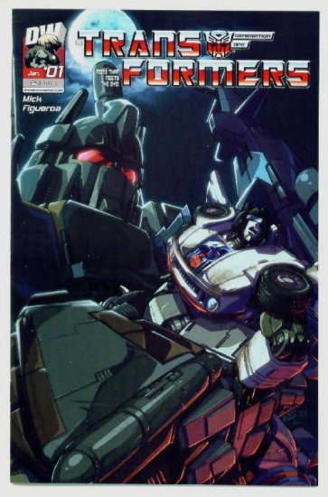 TRANSFORMERS #1 Dreamwave Comics 2004  #1B