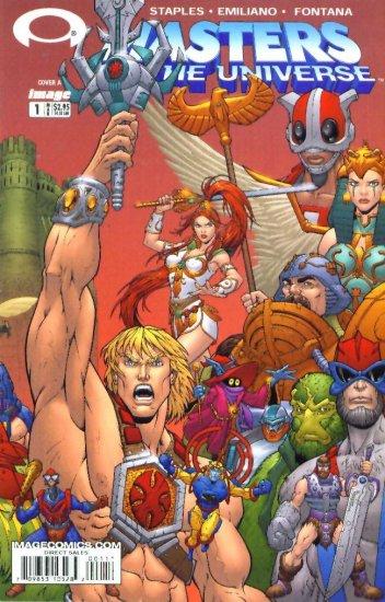 He-Man MASTERS of the UNIVERSE #1 Image Comics 2003 1A MOTU