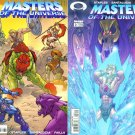 He-Man MASTERS of the UNIVERSE Lot #1 and #2 Image Comics 2002