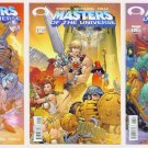 He-Man MASTERS of the UNIVERSE Lot #1 #2 #3 Image Comics 2002