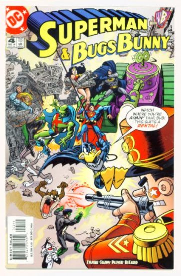 SUPERMAN and BUGS BUNNY #4 DC Comics 2000 NM