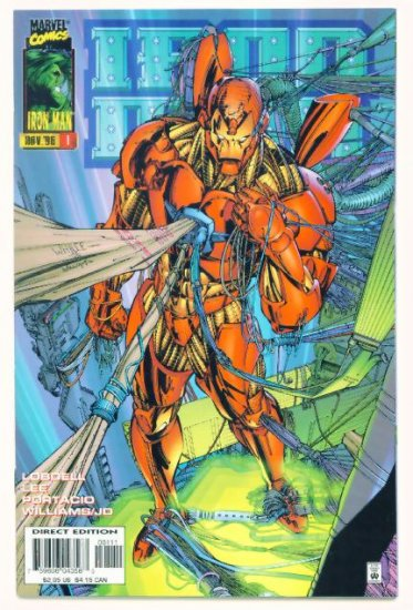 IRON MAN #1 Marvel Comics 1996 NM Origin Retold