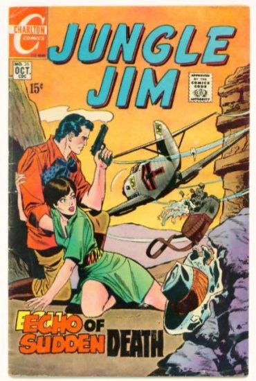 JUNGLE JIM #26 Charlton Comics 1969