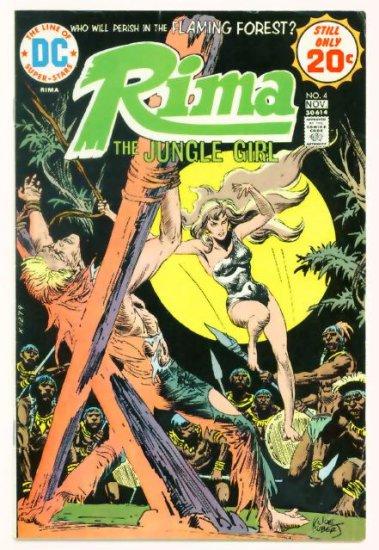 RIMA JUNGLE GIRL #4 DC Comics 1974