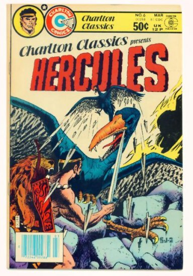 HERCULES Charlton Classics #6 Charlton Comics 1980