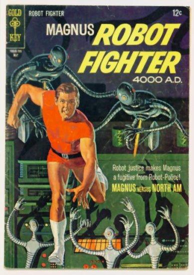 MAGNUS Robot Fighter #18 Gold Key Comics 1967 Russ Manning