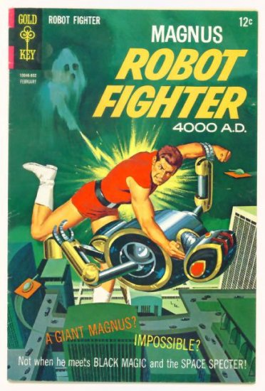 MAGNUS Robot Fighter #21 Gold Key Comics 1968 Russ Manning