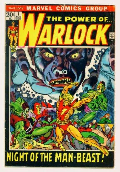 The Power of the WARLOCK #1 Marvel Comics 1972