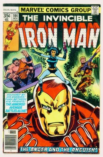 IRON MAN #104 Marvel Comics 1977