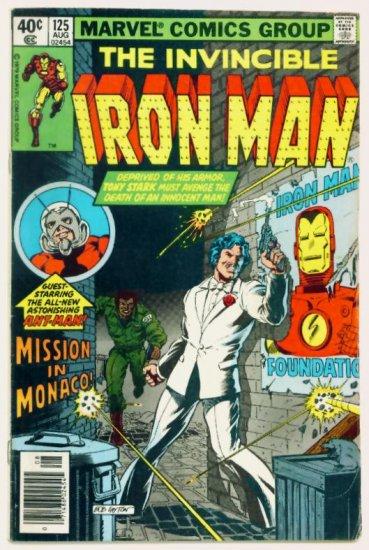 IRON MAN #125 Marvel Comics 1979 John Romita Sr art