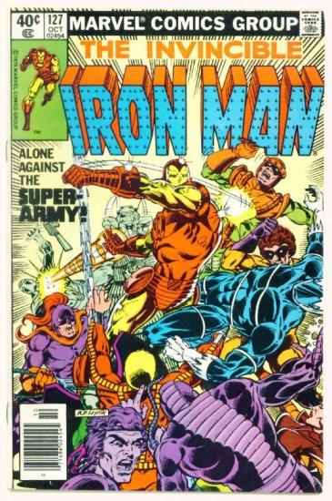 IRON MAN #127 Marvel Comics 1979 John Romita jr art