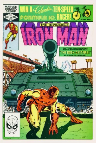 IRON MAN #155 Marvel Comics 1982 Near Mint