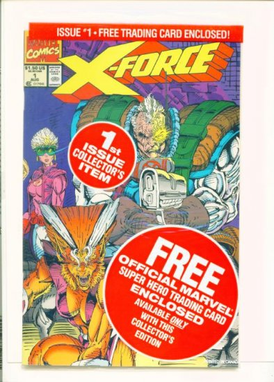 X-FORCE #1 Marvel Comics 1991 NM Factory Sealed