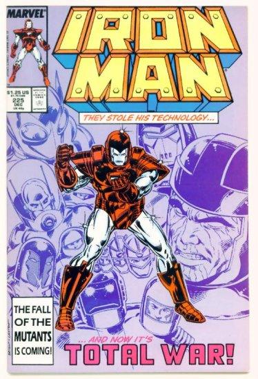 IRON MAN #225 Marvel Comics 1987