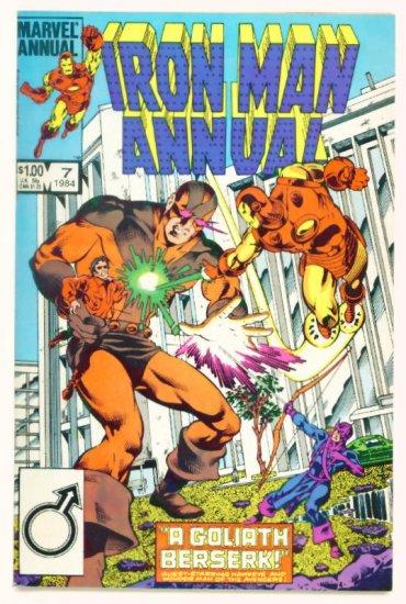 IRON MAN ANNUAL #7 Marvel Comics 1984