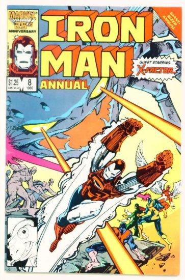 IRON MAN ANNUAL #8 Marvel Comics 1986
