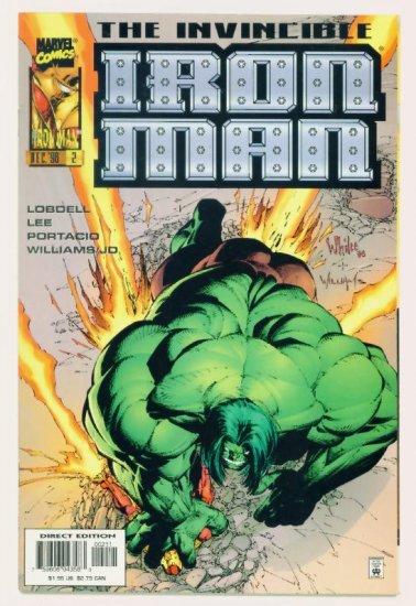 IRON MAN #2 Marvel Comics 1996 Incredible Hulk