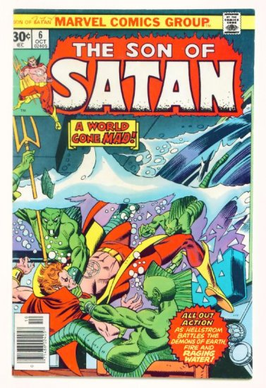 The SON of SATAN #6 Marvel Comics 1976
