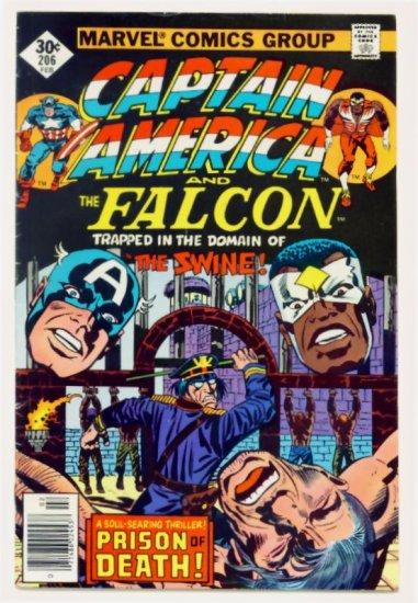 CAPTAIN AMERICA #206 Marvel Comics 1977 Jack Kirby