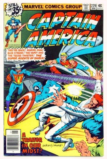 CAPTAIN AMERICA #229 Marvel Comics 1979