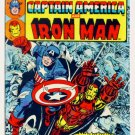 MARVEL DOUBLE FEATURE #1 Marvel Comics 1973 Captain America Iron Man