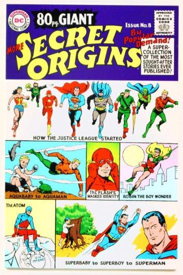 MORE SECRET ORIGINS 80 Page Giant REPLICA EDITION DC Comics